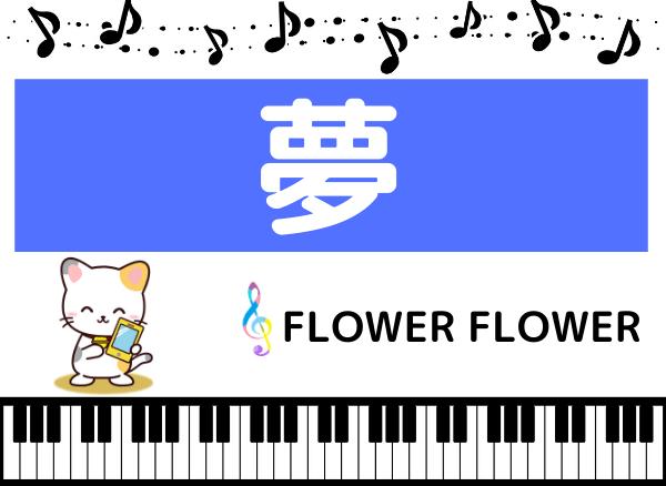 FLOWER FLOWERの夢